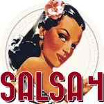 SALSA LEVEL4 SALSA CURSUS BADGE
